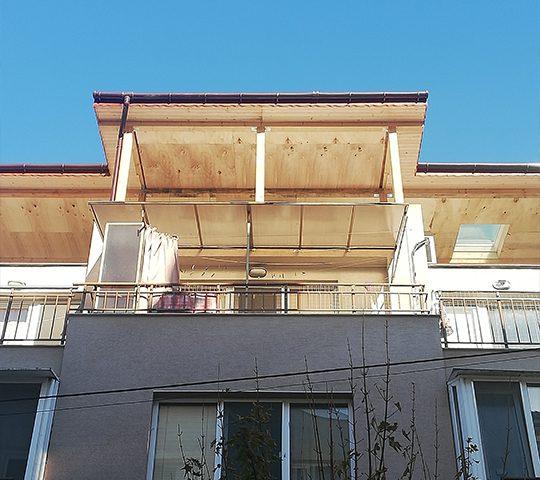 изграждане на покривна тераса