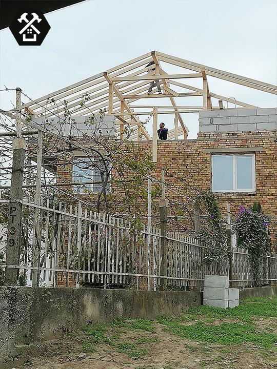 Промяна на конструкция на покрив
